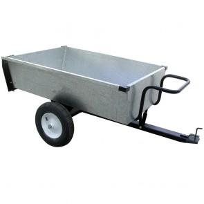 Remorque basculante en acier galvanisé - 320 kg