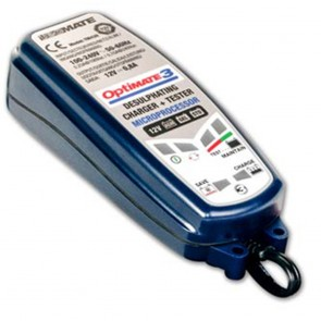 Optimate OM3  - Chargeur de batteries de 12 V - 30 Ah