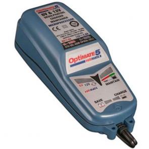 Optimate OM5VOLTMATIC  - Chargeur de batteries de 6V - 12V - 7,5 à 120 Ah