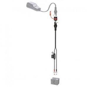 Optimate SAE71  - Accessoire pour chargeur Optimate - raccord oeillets et fusible - 5A max - 0.5m