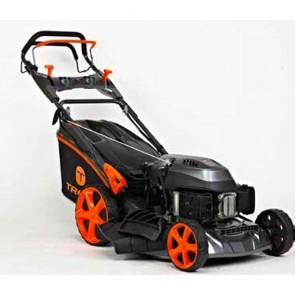 TREX G51 SHLE-C - Tondeuse à essence autotractée - châssis en acier - Coupe 51 cm - Mulching - éjection latérale - Démarrage électrique (Tondeuse)