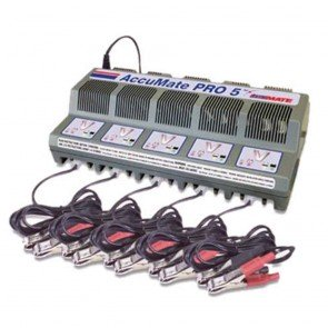 Optimate AMPRO5  - Chargeur de batteries pour 5 batteries 12V – AGM -  GEL ou conventionnelles