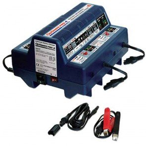 Optimate OMPRO4  - Chargeur de batteries - Gestion professionnelle pour 4 batteries 12V