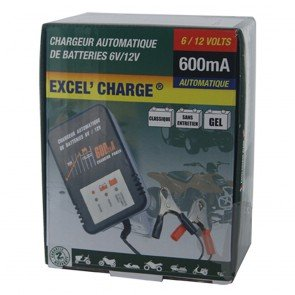 Optimate XL600 - Chargeur de batteries de  6 - 12 V - 5 à 32 Ah