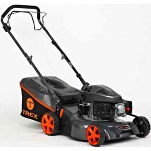 TREX G42 S-A - Tondeuse à essence autotractée - châssis en acier - Coupe 42 cm - Mulching (Tondeuse)