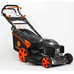 TREX G46 SHL-B - Tondeuse à essence autotractée - châssis en acier - Coupe 46 cm - Mulching - éjection latérale (Tondeuse)