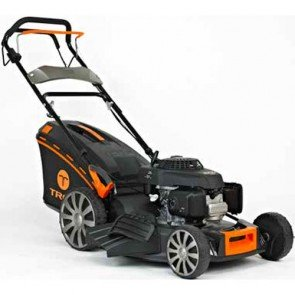 TREX G53 SHL-Q - Tondeuse à essence autotractée - Honda GCV160 - châssis en acier - Coupe 53 cm - Mulching - éjection latérale (Tondeuse)