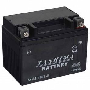 Batterie plomb renforcée 12V 4Ah - L: 120 - l: 70 - H: 92mm + à droite pour scooter motos (livrée sans acide)