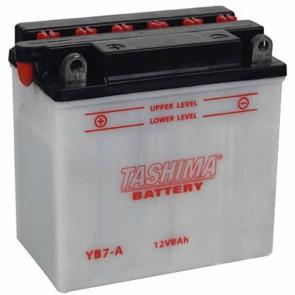Batterie plomb renforcée 12V 8Ah - L: 130 - l: 75 - H: 133mm + à gauche pour scooter motos motoneige (livrée sans acide)