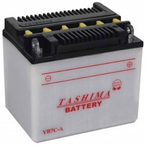 Batterie plomb renforcée 12V 8Ah - L: 130 - l: 90 - H: 114mm + à droite pour scooter motos (livrée sans acide)