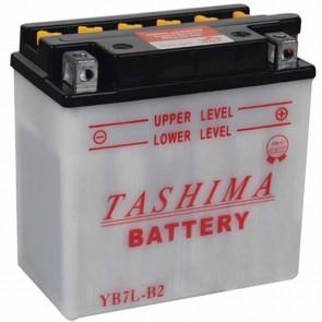 Batterie plomb renforcée 12V 8Ah - L: 135 - l: 75 - H: 135mm + à droite  (livrée sans acide)