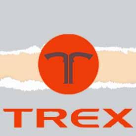Tondeuse à gazon TREX logo